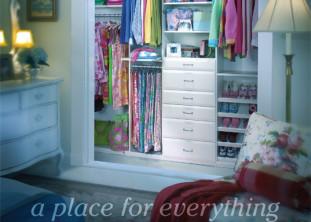 saint louis closet co - reach in closet
