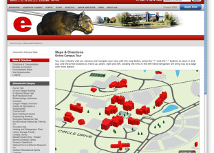 siue interactive map